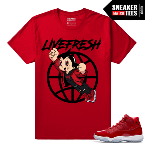 Jordan 11 Win Like 96 Sneaker tees Fresh Boy