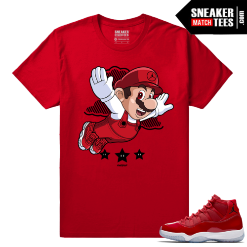 Jordan 11 Win Like 96 Sneaker tees Mario Fly