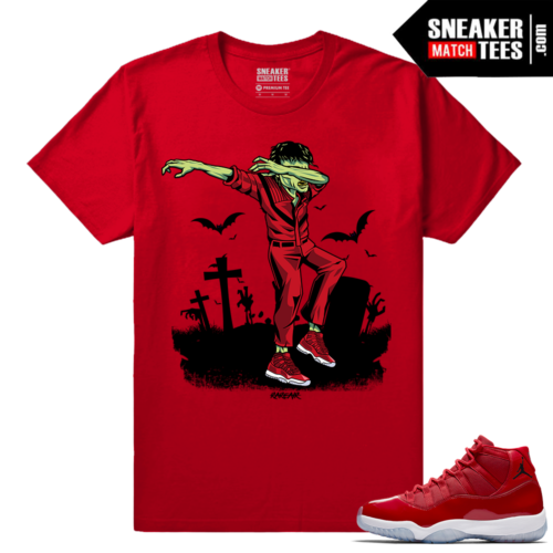 Jordan 11 Win Like 96 T shirt Red Dabin MJ Thrilla