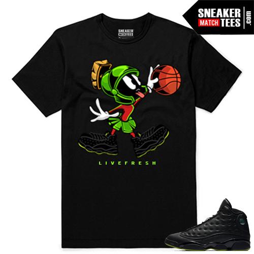 Altitude 13 Sneaker tees Black Live Fresh Martian