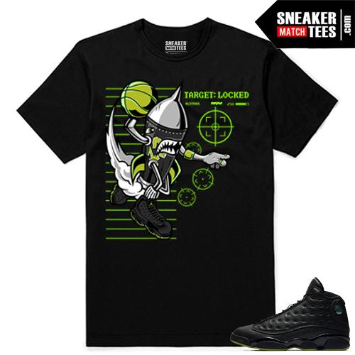 Altitude 13 Sneaker tees Black Rare Air Rocket
