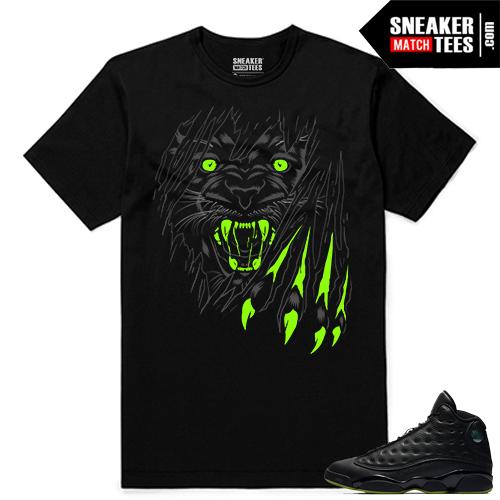 Altitude 13 Sneaker tees Black Savage