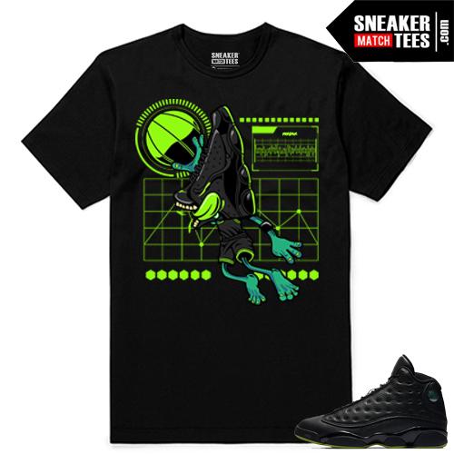 Altitude 13 Sneaker tees Black Sneakerhead Air 13s