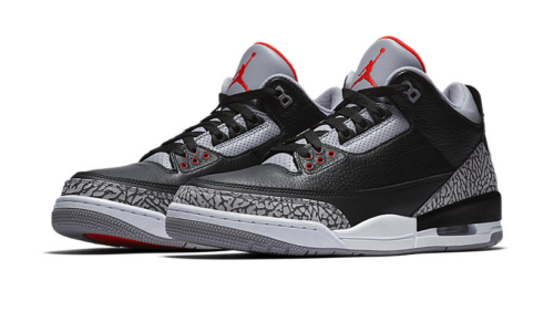 Jordan 3 Black Cement Sneaker Tees Match