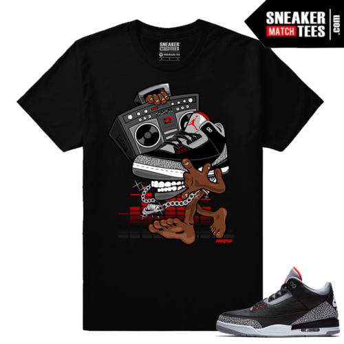 Jordan 3 Black Cement Sneaker tees OG Sneakerhead