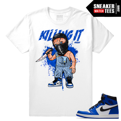Game Royal 1s Sneaker tees Match
