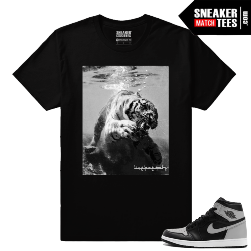 Jordan 1 Shadow OG Sneaker tees match