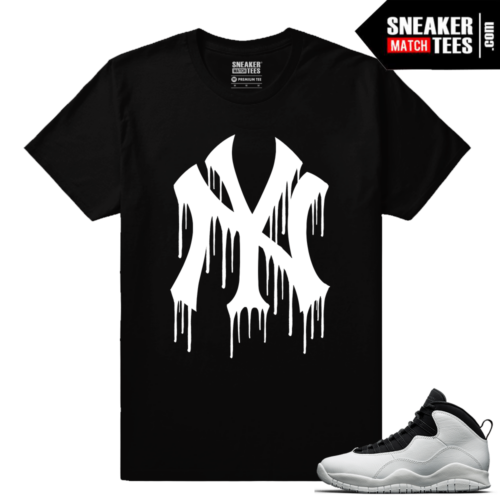 Jordan Retro 10 Im Back Match Sneaker tee Shirt