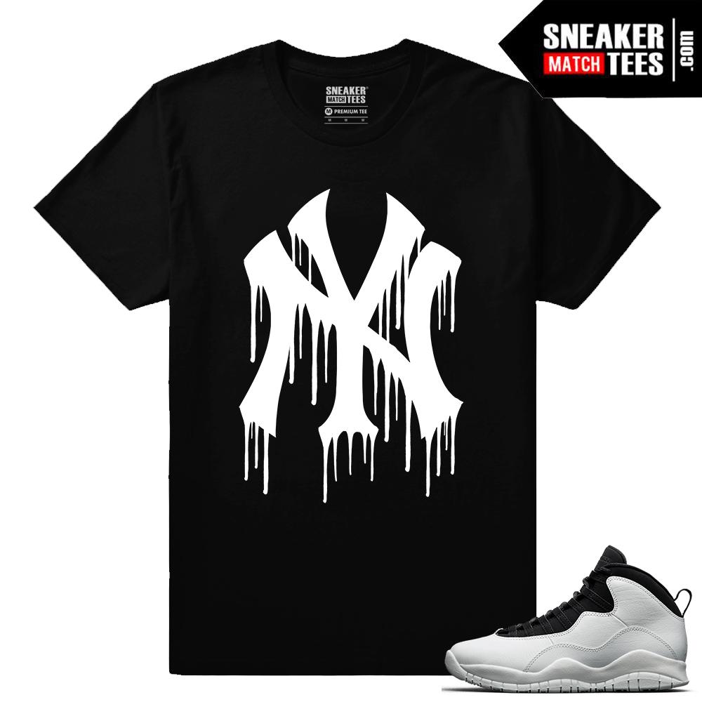 aff8e5f5f5f3 Match Jordan OVO 12 Black Gucci Drip Black T-shirt