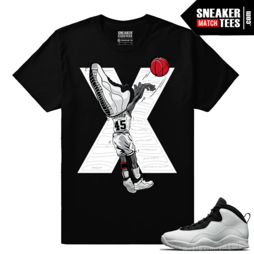 Jordan 10 Im Back Matching Tee Shirt