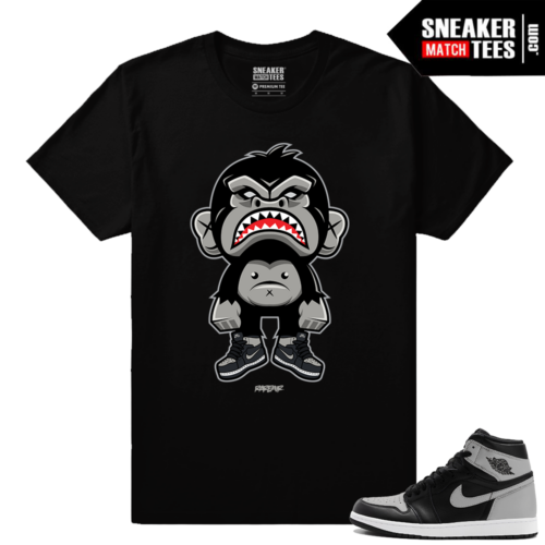 Jordan Retro 1 High OG Shadow Match T shirt