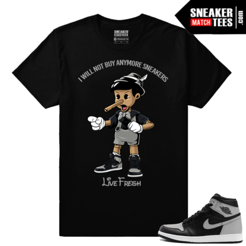 Shirt match Air Jordan 1 Retro OG Shadow
