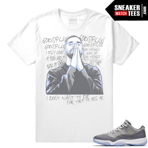 Air Jordan 11 Cool Grey Shirt