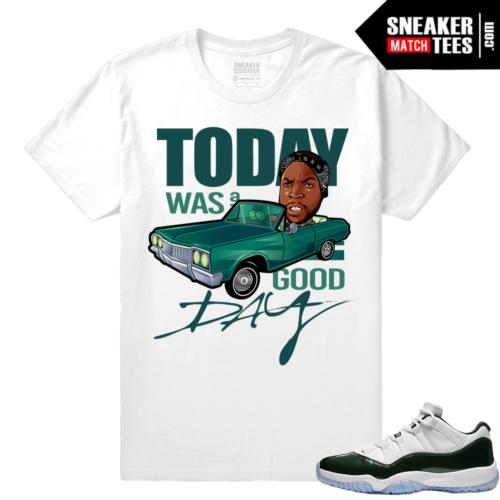 Air Jordan 11 low Emerald Green Sneaker tees