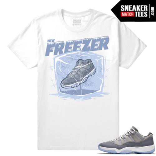 Air Jordan XI Low Cool Grey Shirt