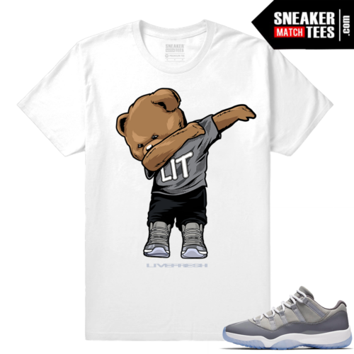 Cool Grey 11 lows Sneaker Match Tees