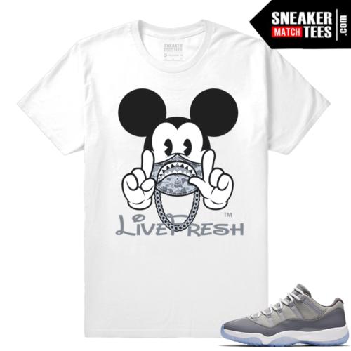 Cool Grey 11s shirt