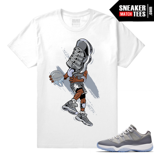 Cool Grey Air Jordan 11 shirt