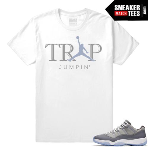 Jordan 11 Cool Grey low shirt