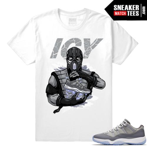 Jordan 11 Sneaker shirt Outfit Cool Grey