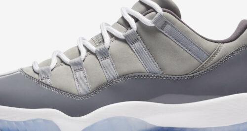 Jordan 11 low Cool Greys