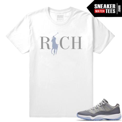 Jordan Cool Grey 11 shirt