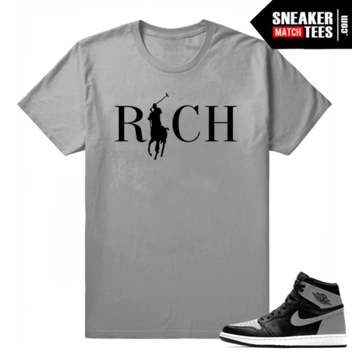 Jordan Retro 1 OG Shadow matching tee