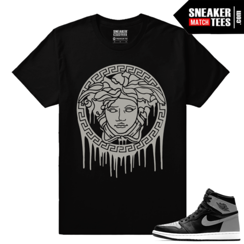 Jordan Retro Shadow 1s sneaker matching tees