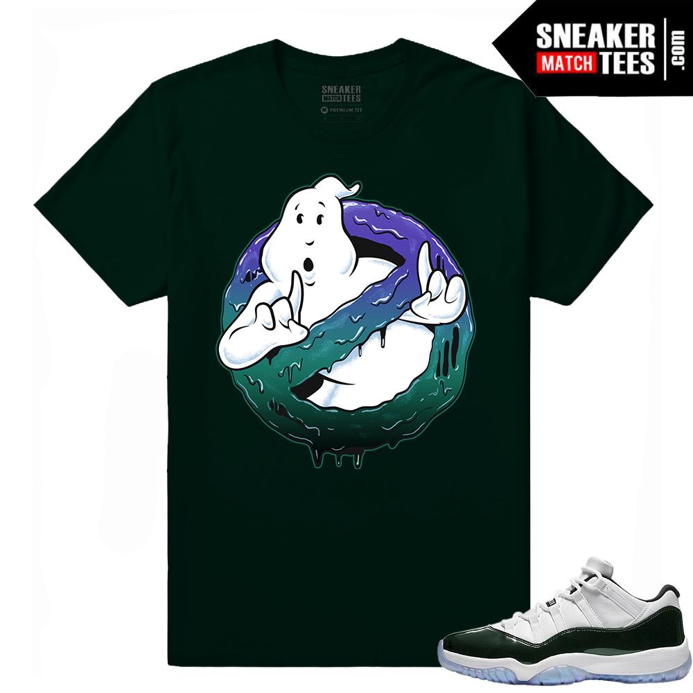 5b9a281cfe3c0c Match Air Jordan 11 Low Emerald Green Tees - Sneaker Match Tees