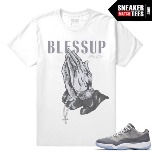 New Jordan 11 Cool Grey Shirt