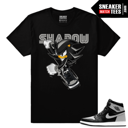 Shadow 1 Jordan Retro Sneaker Matching Shirts