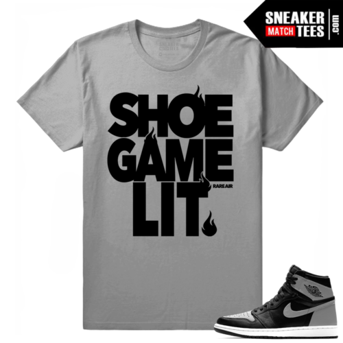 Sneaker tee shirt Shadow 1s