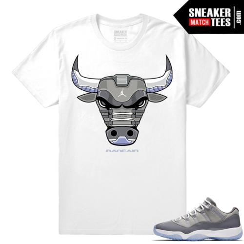 Sneaker tees Cool Grey 11 lows