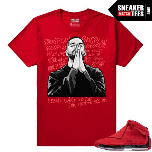 Sneaker tees Match Toro 18 Jordan Retro