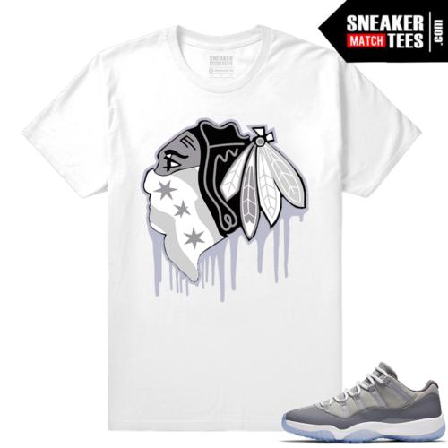 Streetwear shirt Cool Grey Jordan XI