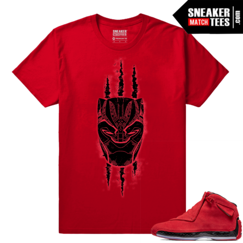 Toro 18 Sneaker Tees Match Jordan Retro 18