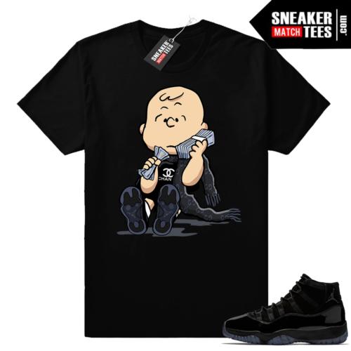 Air Jordan 11 Cap and Gown Shirt outfits