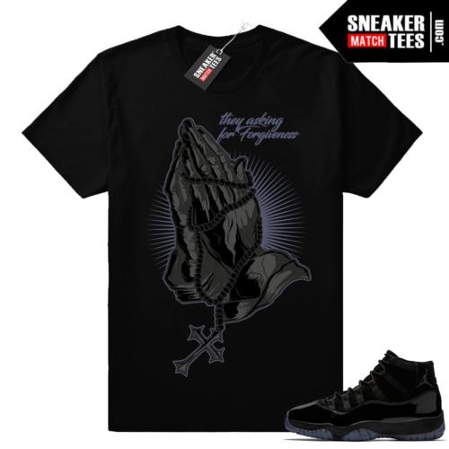 Air Jordan 11 Cap and Gown tees