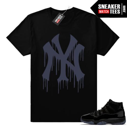 Air Jordan 11 sneaker match tees