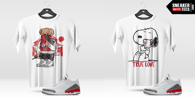 Air Jordan 3 Katrina Shirts release
