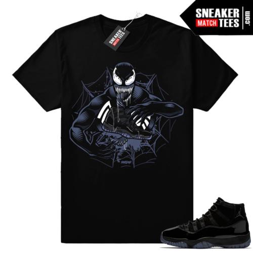Black Jordan 11 shirt