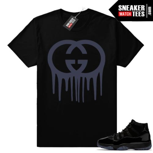 Jordan 11 Cap Gown shirts