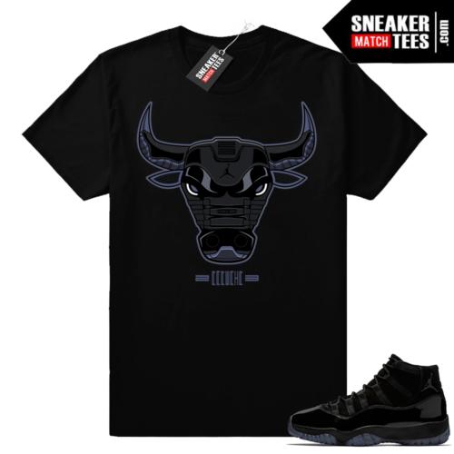 Jordan 11 Cap and Gown Shirts to match