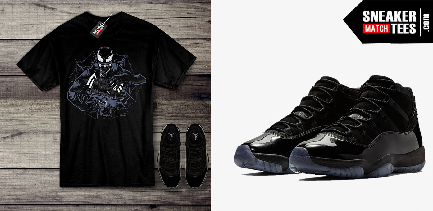 Jordan 11 Cap and Gown shirt releases