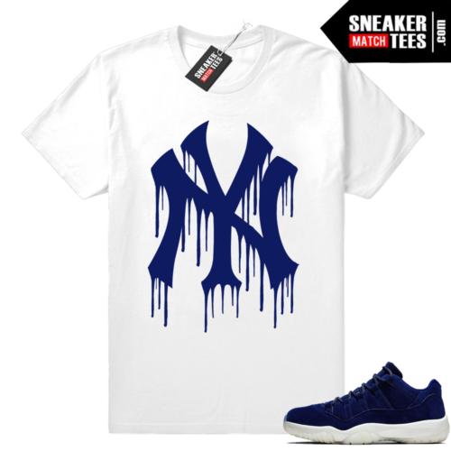 Jordan 11 Low Jeter matching shirt