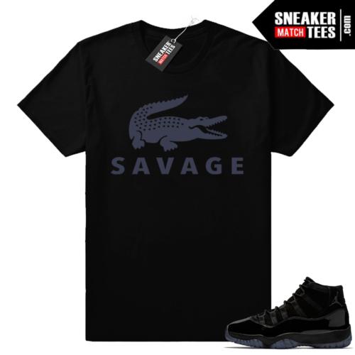 Jordan 11 Savage shirt
