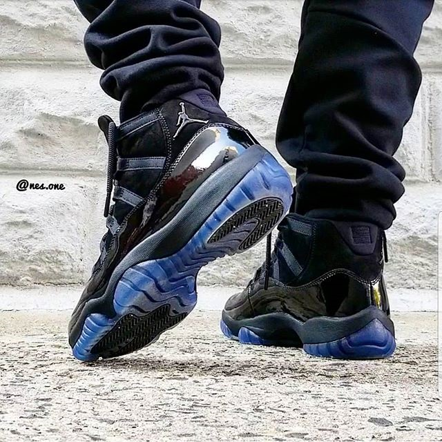Jordan 11 Cap and Gown Release Date on Feet