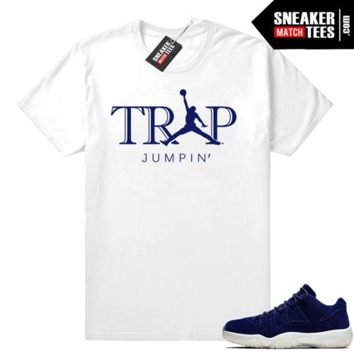 Jordan 11 low Jeter match shirt
