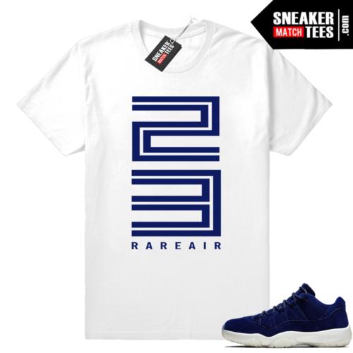 Jordan 11 low Jeter shirt