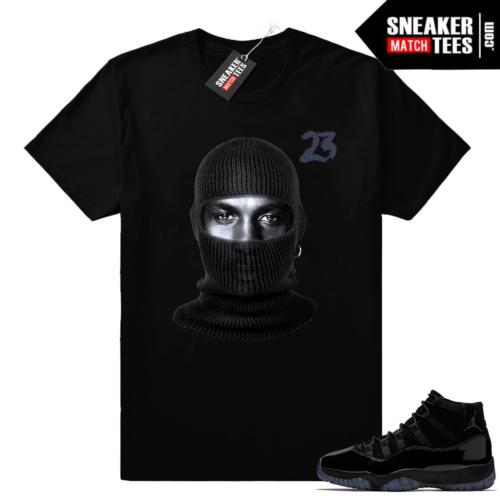 Jordan 11 matching shirt Cap and Gown